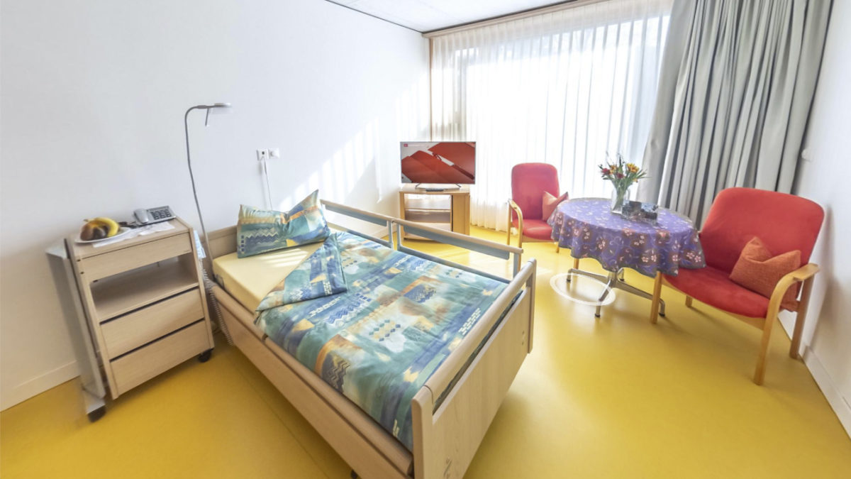 Haus Reuss Pflegezimmer